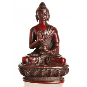 Amoghasiddhi Buddha Statue 11,5 cm Resin