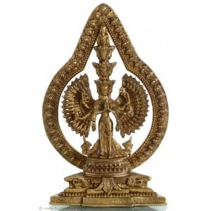 Avalokiteshvara - Chenresig stehend 31 cm Buddha Statue