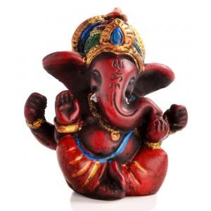 Ganesha Statue sitzend Vorderansicht
