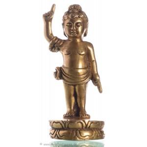 Buddha Baby 13 cm Messing Buddha-Statue