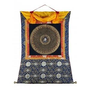 Thangka Mandala Weiße Tara 95 x 112 cm