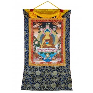 Thangka - Buddha Shakyamuni 74 x 115 cm