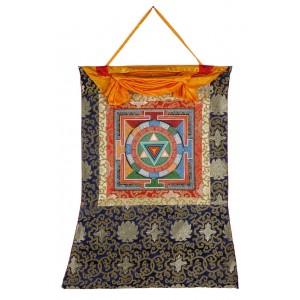 Thangka Yantra Bhuvaneshvari 66 x 83 cm