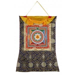 Thangka YantraTripura Bhairavi 66 x 83 cm