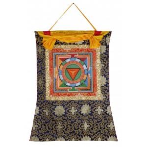 Thangka Yantra Kali 66 x 83 cm