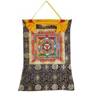 Thangka Yantra Kamala II 66 x 83 cm