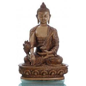 Medizinbuddha 20 cm beige Buddha Statue