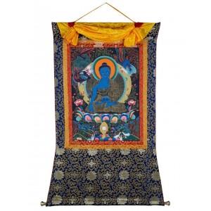Thangka - Medizinbuddha 93 x 135 cm