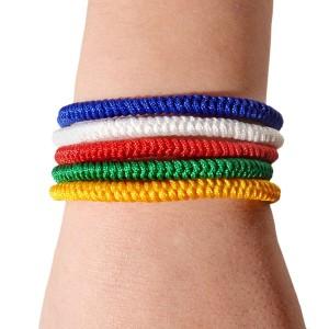 Glücksknoten-Armband