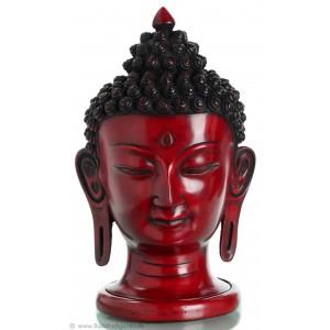 Buddhakopf  29,5 cm Resin
