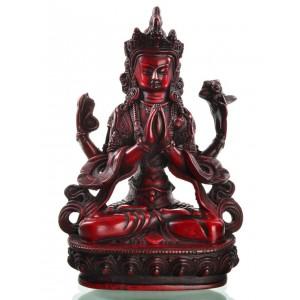 Avalokiteshvara - Chenresig 20 cm Buddha Statue Resin