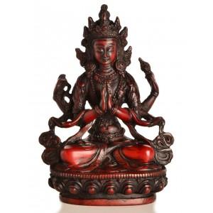 Avalokiteshvara - Chenresig 15 cm Buddha Statue Resin