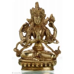 Avalokiteshvara - Chenresig 14 cm Buddha Statue
