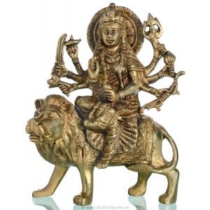 Durga 20 cm Messing Statue