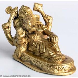Ganesh Statue liegend 5 cm