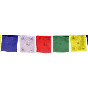 Gebetsfahnen (25 Blatt) 650 cm Premium  Qualität