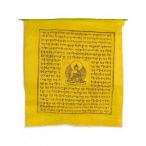 Gebetsfahnen Medizinbuddha (25 Blatt) 650 cm BW