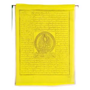 Gebetsfahnen mixed (25 Blatt) 850 cm BW