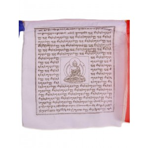 Gebetsfahnen Shakyamuni (25 Blatt) 650 cm BW