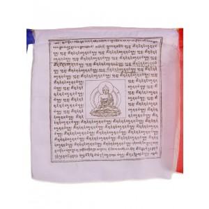 Gebetsfahnen Shakyamuni (25 Blatt) 650 cm P