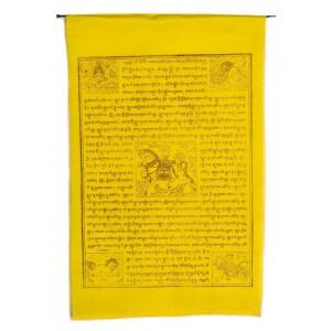 Gebetsfahnen Windpferd (25 Blatt) 850 cm BW