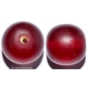 Glasperlen rot 14mm - 4 Perlen