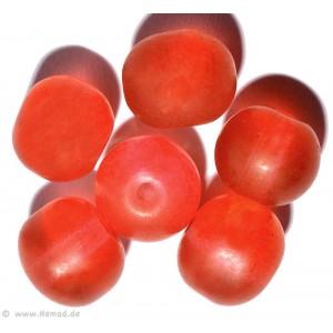 Glasperlen dunkelrot 8mm - 20 Perlen