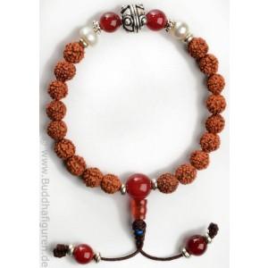 armband rudraksha perle