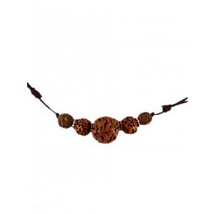 Buddhistische Kette Rudraksha 5 Seeds