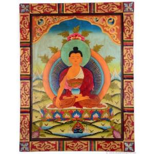 Kloster-Thangka - Shakyamuni