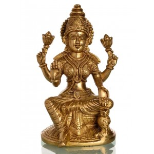 Lakshmi Statue 16 cm