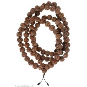 Mala Rudraksha beads-Mala 17 mm