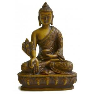 Medizinbuddha 13,5 cm Buddha Statue hell
