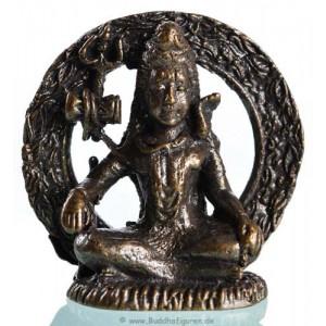 shiva sitzend mini statue