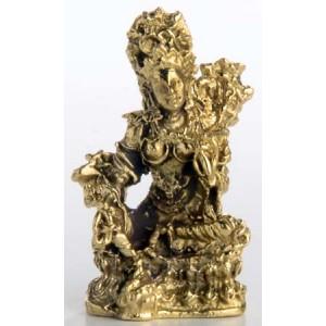 Buddha mini grüne Tara