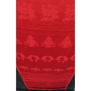 Khata, Kata - Zeremonienschal rot