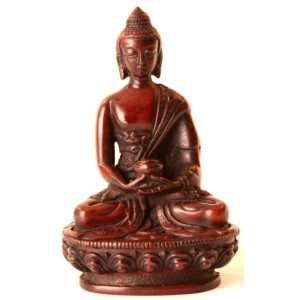 Amitabha Buddha Statue Resin 11,5 cm