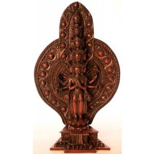 Avalokiteshvara - Chenresig 39 cm Buddha Statue Resin