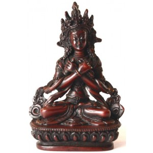 Vajradhara 15,5 cm Buddha Statuen Resin