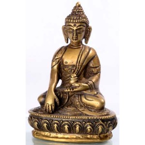 Akshobhya / Shakyamuni 8  cm Buddhastatue