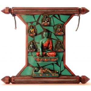 Meditationsbuddha Tafel