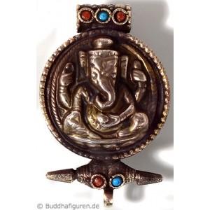 Schmuckanhänger Medaillon Ghau Ganesh