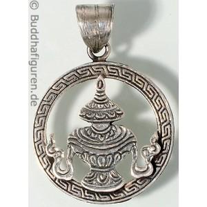 Silberschmuckanhänger Kalasha 25 mm