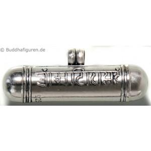 Silberschmuckanhänger Mantrarolle 33mm