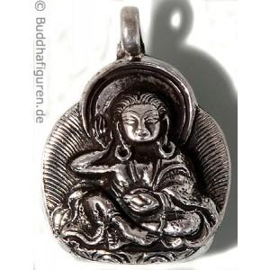 Silberschmuckanhänger Milarepa  25 mm