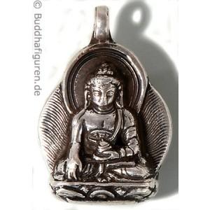 Silberschmuckanhänger Buddha Shakyamuni 25 mm