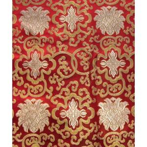 Brokat - buddhistische Stoffe Lotus Muster