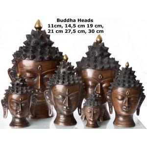 Buddha-Kopf  11 - 30 cm
