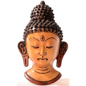 Buddha Maske 23 cm Resin