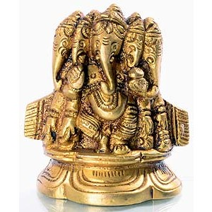 Ganesh sitting - 6 cm